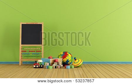 Play Room With Toys