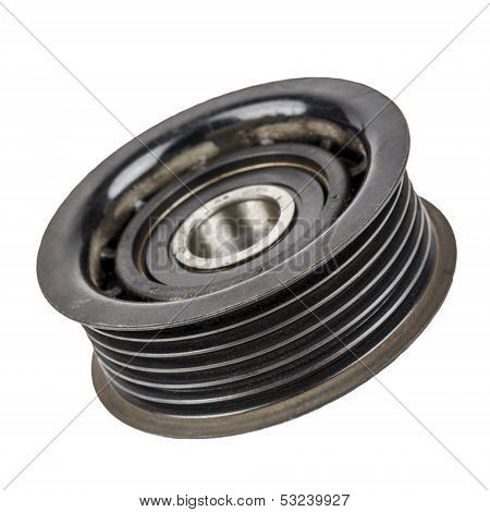 Worn Out Pulley Belt