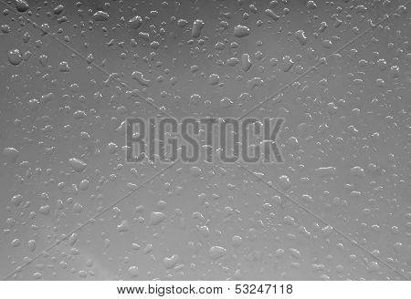 Abstract Raindrop Window