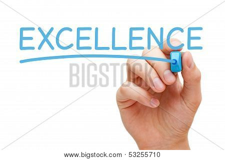 Excellence Blue Marker