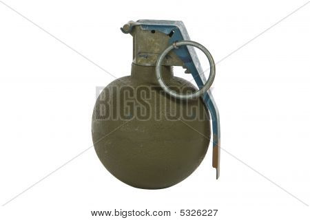 Green Modern Hand Grenade
