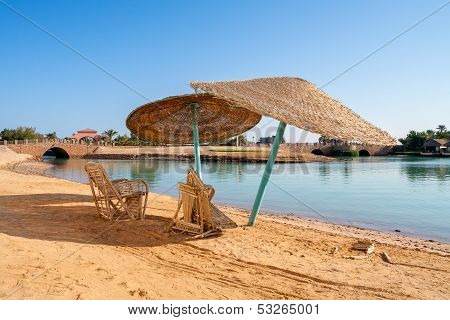Beach At El Gouna. Egypt
