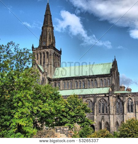 Glasgow Cathedral - Hdr