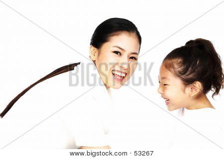lächelnde Gesichter