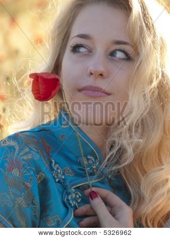 Blonde With Poppy