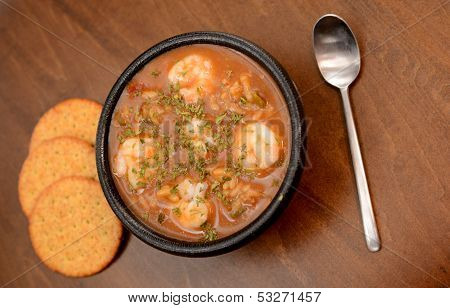 Rustic Shrimp Gumbo