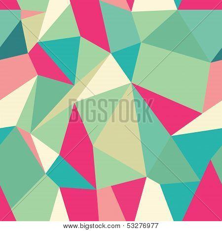 Seamless Polygonal Pattern Background