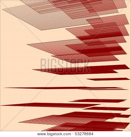Abstract Geometric Background - Illustration