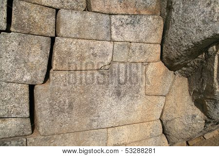 12-angled stone in ancient Inca
