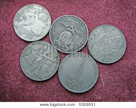 Old Ussr Coins.