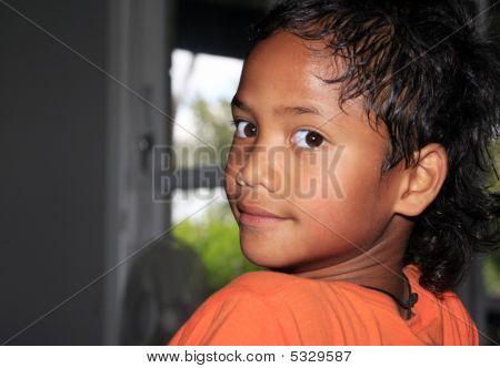 Maori Boy