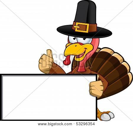 Thanksgiving Turkey Character