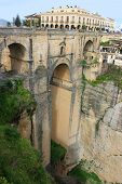 Puente Nuevo Bridge, In Ronda, Spain