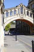 Постер, плакат: Мост Вздохов Оксфорд Англия