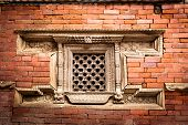 pic of hanuman  - Hindu temple architecture detail - JPG