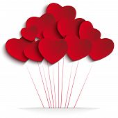 picture of balloon  - Vector  - JPG