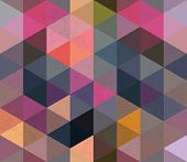 foto of hexagon pattern  - Seamless Triangle Pattern Backgound Texture Vector Hexagon - JPG
