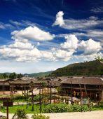 A Historical Village Near Lijiang China poster