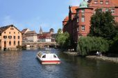 foto of hydrofoil  - Visiting Strasbourg from the water - JPG