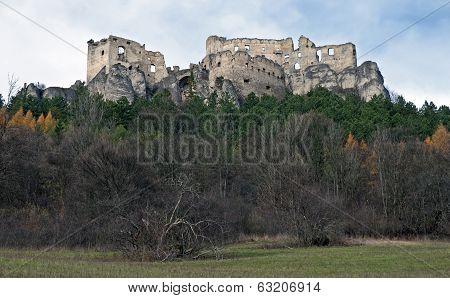 Lietava Castle Panorama