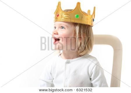 Child King Isolated