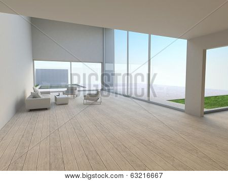 Interior Of Modern Living-room