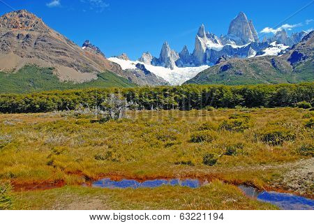 The Fitz Roy Massif, Chalten, Patagonia, Argentina