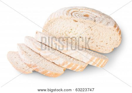Unleavened Bread Sliced With Dill Seeds