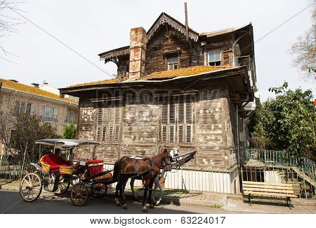 Old Wooden House In Princes Islands