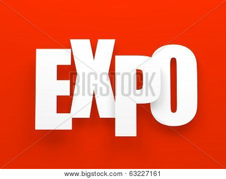 Expo on red