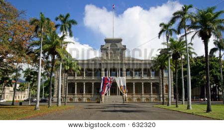 Iolani Palace - Honolulu, Hawaii.