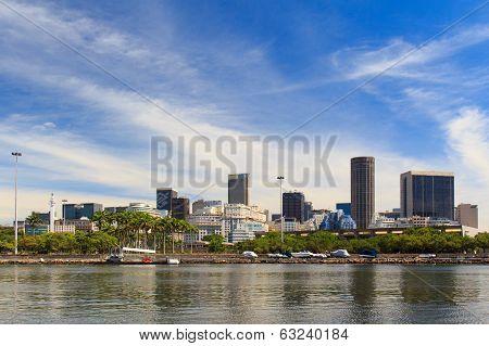 City Center Of Rio De Janeiro, Brazil
