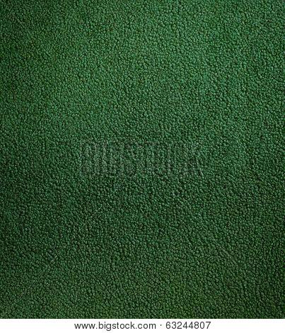 Texture of green carpet