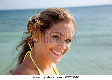 Beautiful Beach Woman