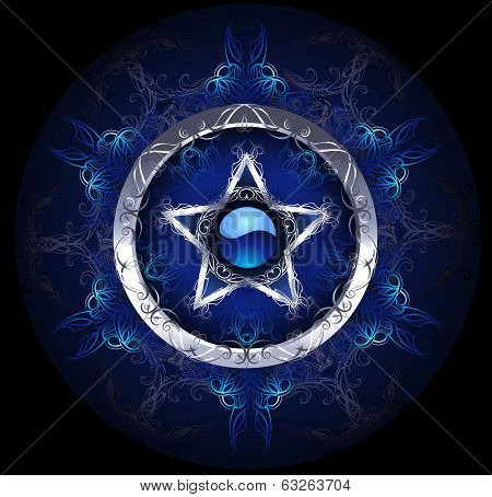 Mystic Blue Star