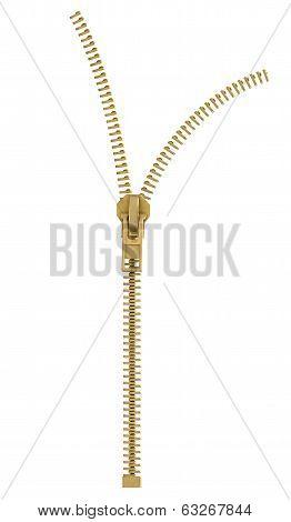 zipping