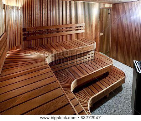 Luxury Domestic Sauna