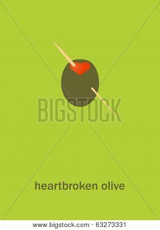 Heartbroken Olive