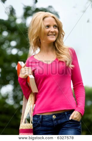 Casual Woman Outdoors