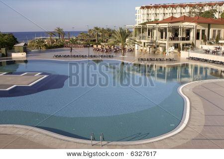 Resort Pool In Turkey
