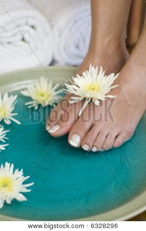 Foot Bath With Herbs And Flowers 3
