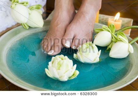 Lotus Flower Aromatherapy Spa For Feet 1
