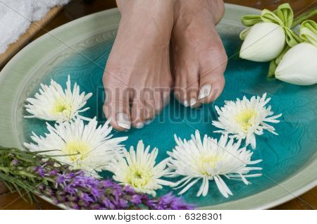 Lotus Flower Aromatherapy Spa For Feet