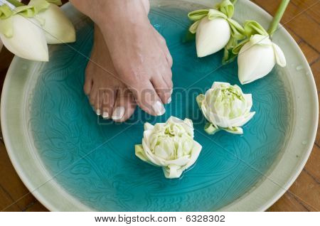 Lotus Flower Aromatherapy Spa For Feet 4