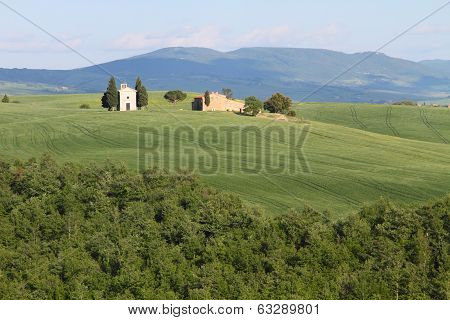 rural landscape in Tuscany