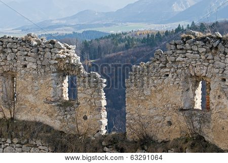 Lietava Castle Walls