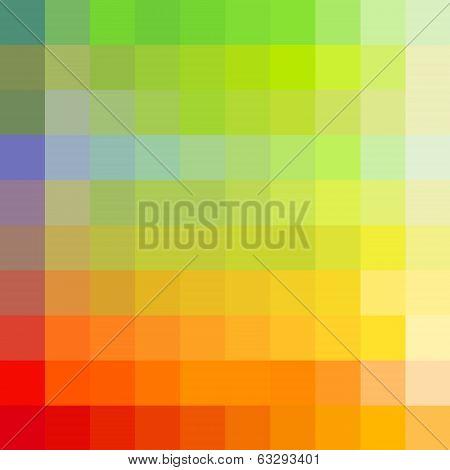 Colorful rainbow mosaic background