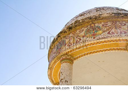 Dome Of A Modernist Temple