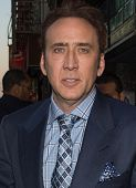 NEW YORK-APR 9: Actor Nicolas Cage attends the Lionsgate & Roadside Attractions with The Cinema Soci