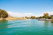 foto of dalyan  - Turkey mountains near the river - JPG